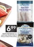 Aqua Star Shrimp Raw Quick-peel 26/30 Ct Per Lb 340 g or Basa Fillets 908 g