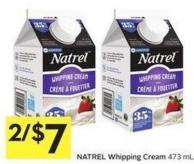 Natrel Whipping Cream 473 mL