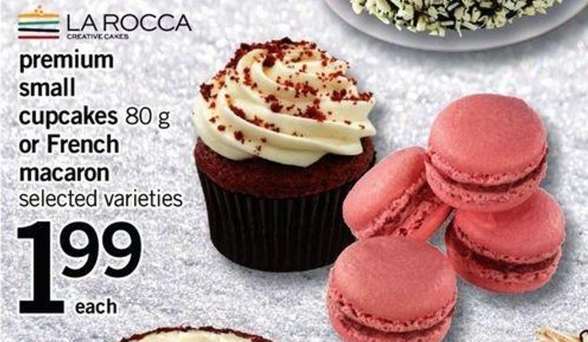 Premium Small Cupcakes - 80 G Or French Macaron