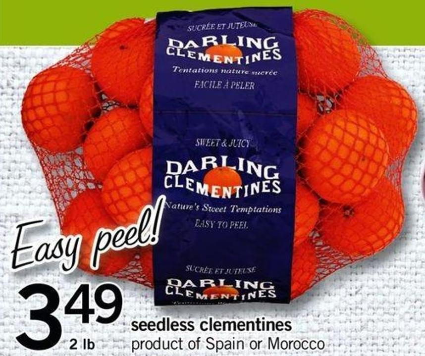 Seedless Clementines - 2 Lb