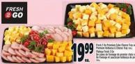 Fresh 2 Go Premium Cube Cheese Tray 860 G Or Premium Kolbassa & Cheese Tray 760 G