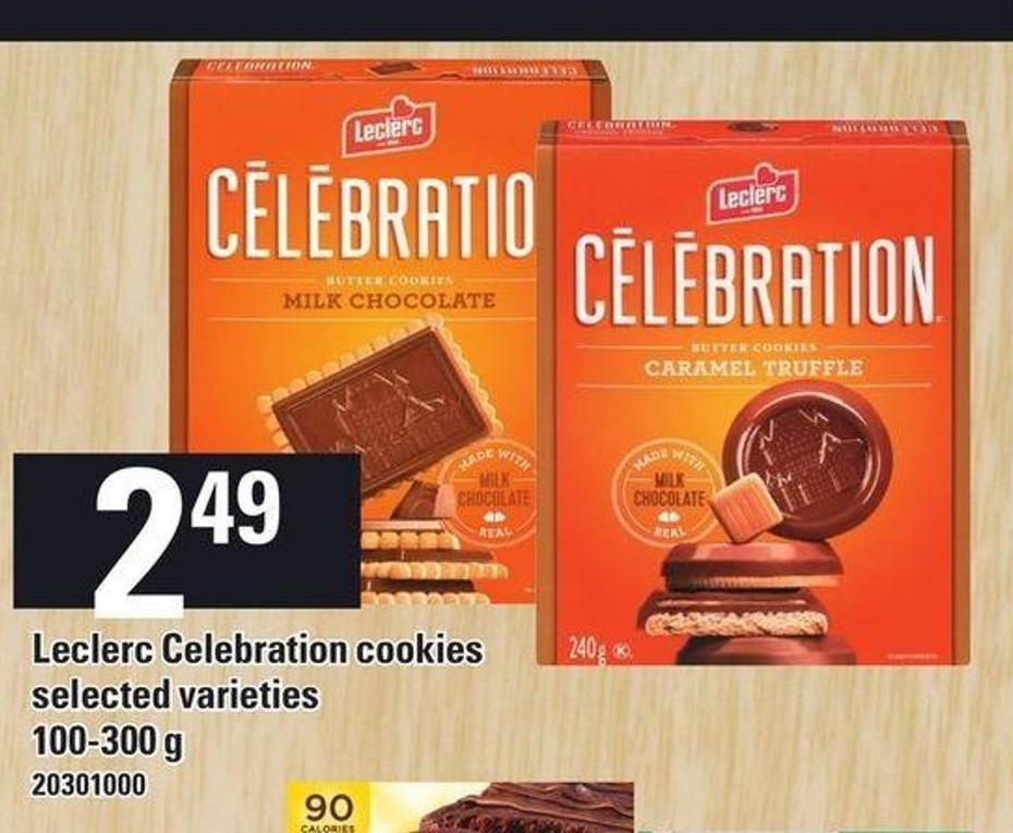 Leclerc Celebration Cookies - 100-300 G