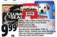 Kibbles' N Bits Or Nature's Recipe Dog Food - Milk-bone Dog Treats Or Arm & Hammer Clump & Seal Cat Litter