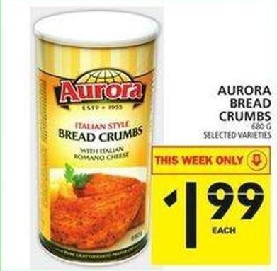 Aurora Bread Crumbs