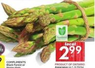 Product Of Ontario Asparagus No 1 - 6.59/kg