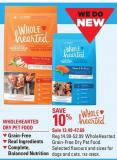 Wholehearted Grain-free Dry Pet Food