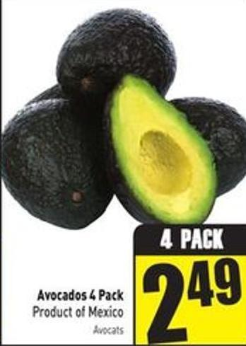 Avocados 4 Pack