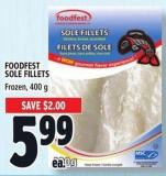 Foodfest Sole Fillets