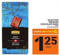 Selection Premium Chocolate Bars