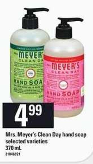 Mrs. Meyer's Clean Day Hand Soap - 370 mL