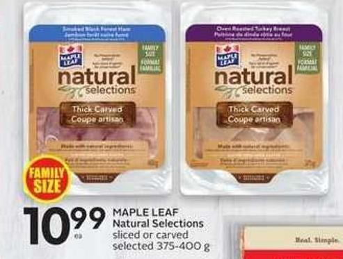 Maple Leaf Natural Selections