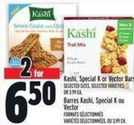 Kashi - Special K Or Vector Bars