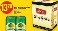 Mill Street Original Organic Lager - 6x341 mL