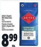 Anita's Organic Mill Rolled Oats