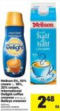 Neilson 5% - 10% Cream 1 L - 18% - 35% Cream - International Delight Coffee Creamer - 473 mL Or Baileys Creamer - 400 mL