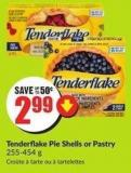 Tenderflake Pie Shells or Pastry 255-454 g