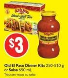 Old El Paso Dinner Kits 250-510 g or Salsa 650 mL