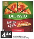 Delissio Rising Crust or Pizzeria Pizza 519 - 888 g