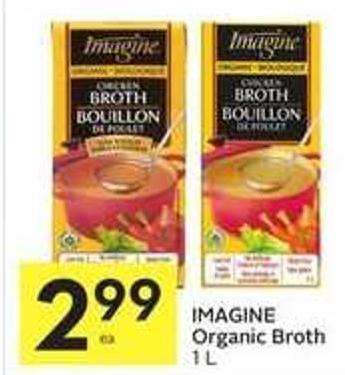 Imagine Organic Broth 1 L