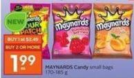 Maynards Candy Small Bags - 170 - 185 G