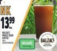 Balzacs Whole Bean Coffee