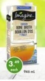 Imagine Chicken Bone Broth 946 ml
