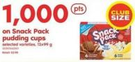 Snack Pack Pudding Cups - 12x99 G
