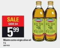 Mastro Extra Virgin Olive Oil 1 L