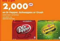 Dr Pepper - Schweppes Or Crush - 12x355 Ml