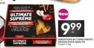 Sensations By Compliments Ultimate Dutch Apple Pie Frozen 1.1 Kg