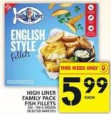 High Liner Family Pack Fish Fillets