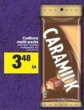 Cadbury Multi-packs - 4's