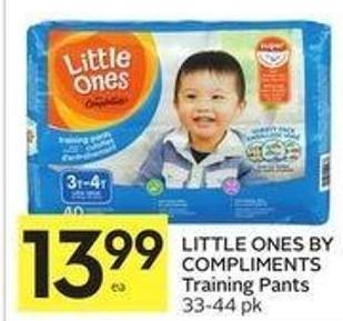Little Ones By Compliments Training Pants