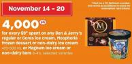 Ben & Jerry's Regular Or Cores Ice Cream - Moophoria Frozen Dessert Or Non-dairy Ice Cream 473-500 Ml Or Magnum Ice Cream Or Non-dairy Bars 3-4's
