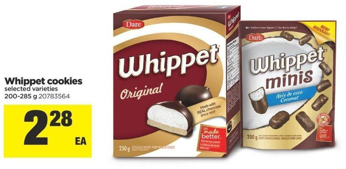Whippet Cookies - 200-285 g