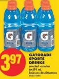 Gatorade Sports Drinks - 6x591 mL