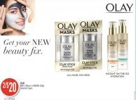 Olay Mist (98ml) or Masks (48g)