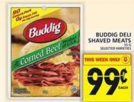 Buddig Deli Shaved Meats
