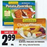 Golden Blintzes - Pancakes Or Perogies 300 - 454 g
