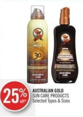 Australian Gold Sun Care Products