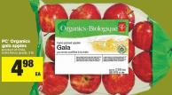 PC Organics Gala Apples - 3 Lb