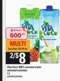 Vita Coco 100% Coconut Water - 1 L