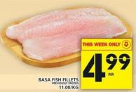 Basa Fish Fillets