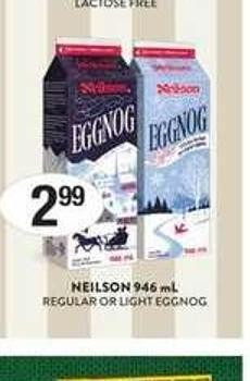 Neilson 946 mL Regular Or Light Eggnog