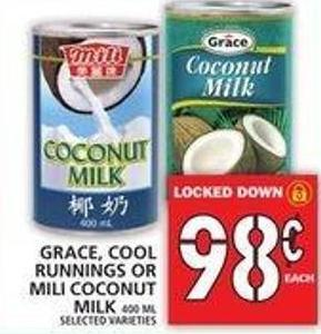Grace - Cool Runnings Or Mili Coconut Milk