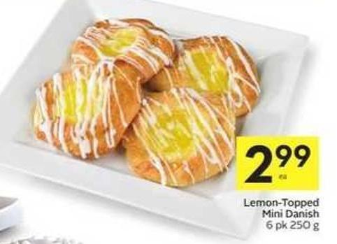Lemon-topped Mini Danish