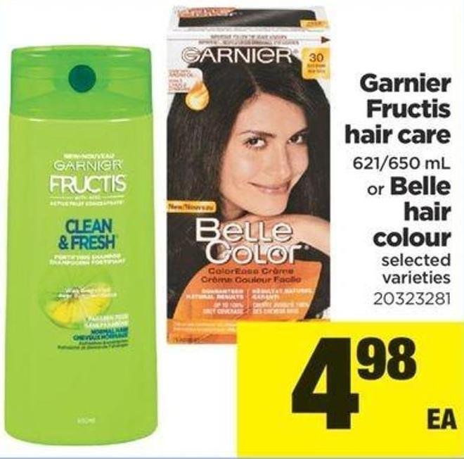 Garnier Fructis Hair Care 621/650 Ml Or Belle Hair Colour
