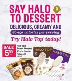 Halo Top Frozen Dessert - 473 Ml Or Novelties - Package Of 4