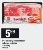 PC Naturally Smoked Bacon