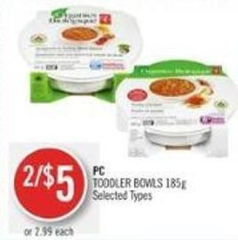 PC Toddler Bowls 185g
